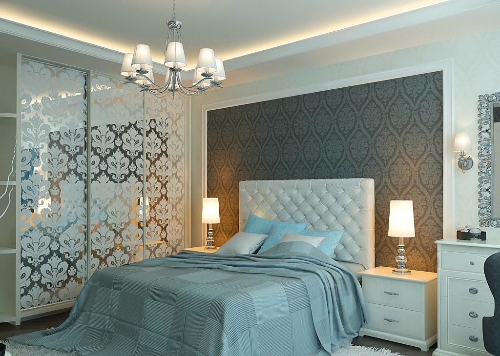 Идеи для спальни 17 кв м фото