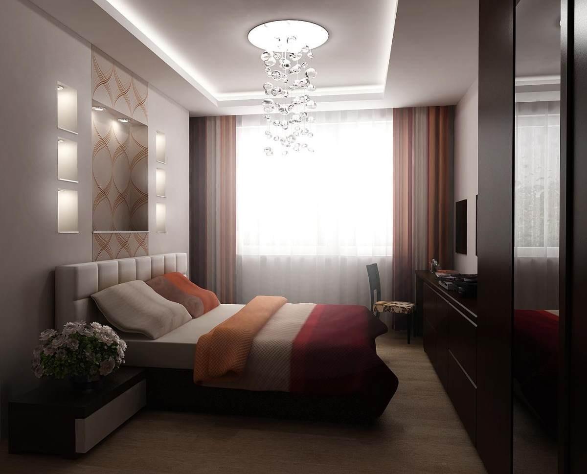 Дизайн узкой комнаты 12 кв.м