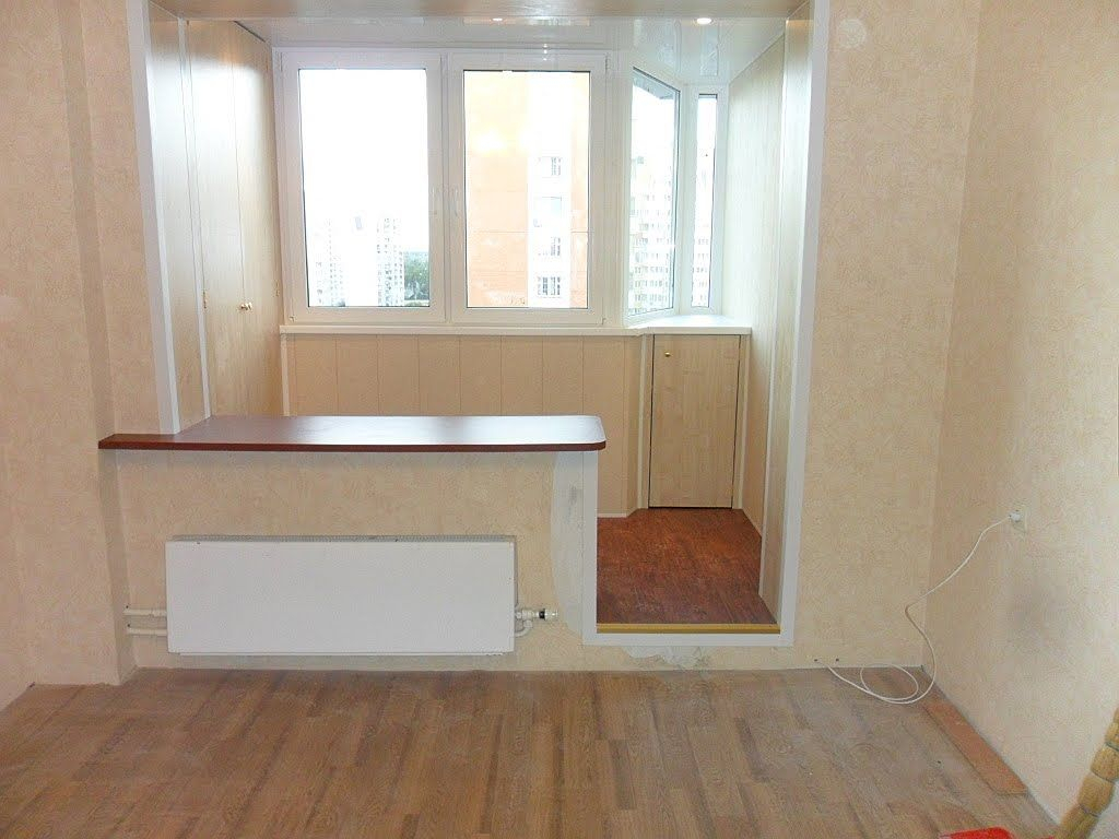 Присоединение балкона к комнате - comfort-da.ru.