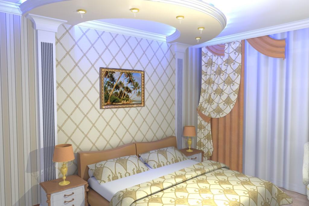 Дизайн спальни. классика. (+ прихожка) - yvision.kz.