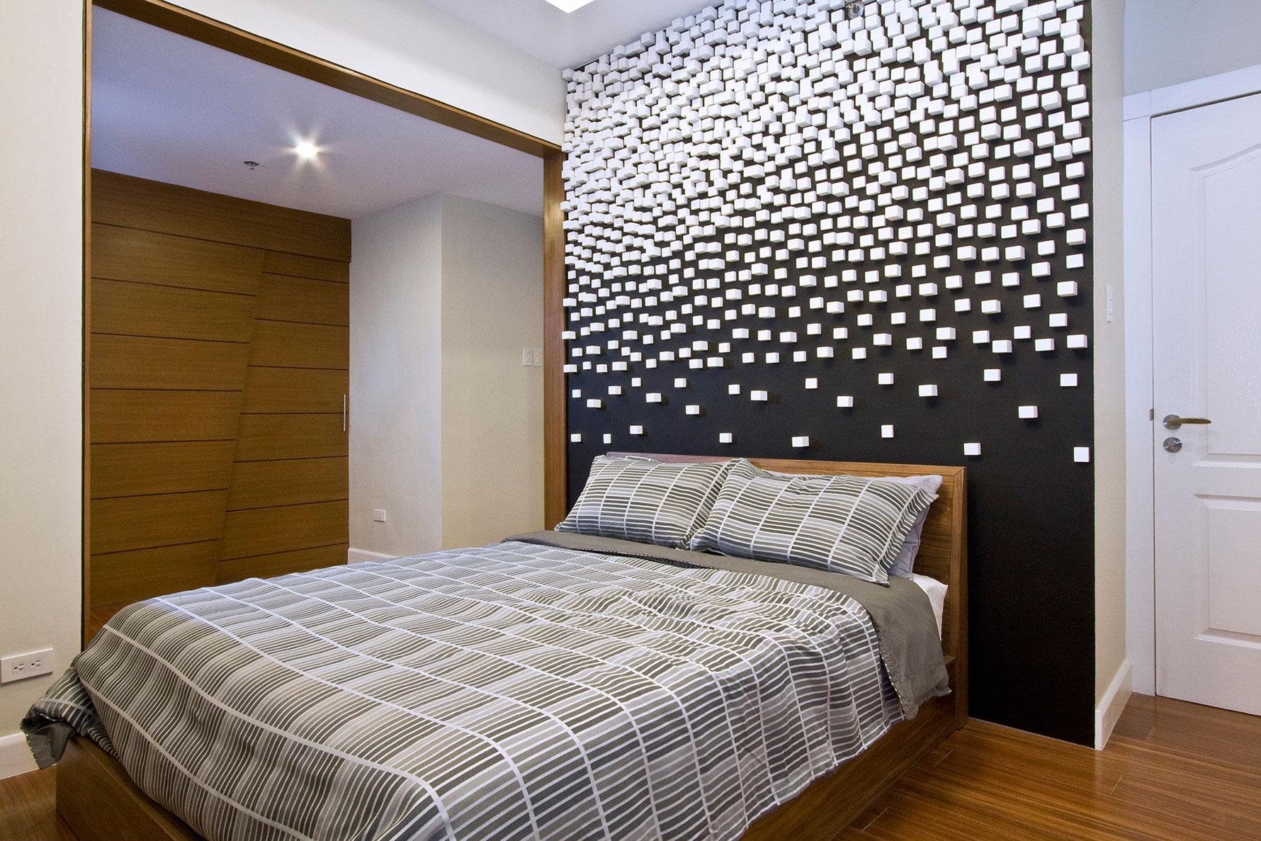 стен фото спальне декорирование в