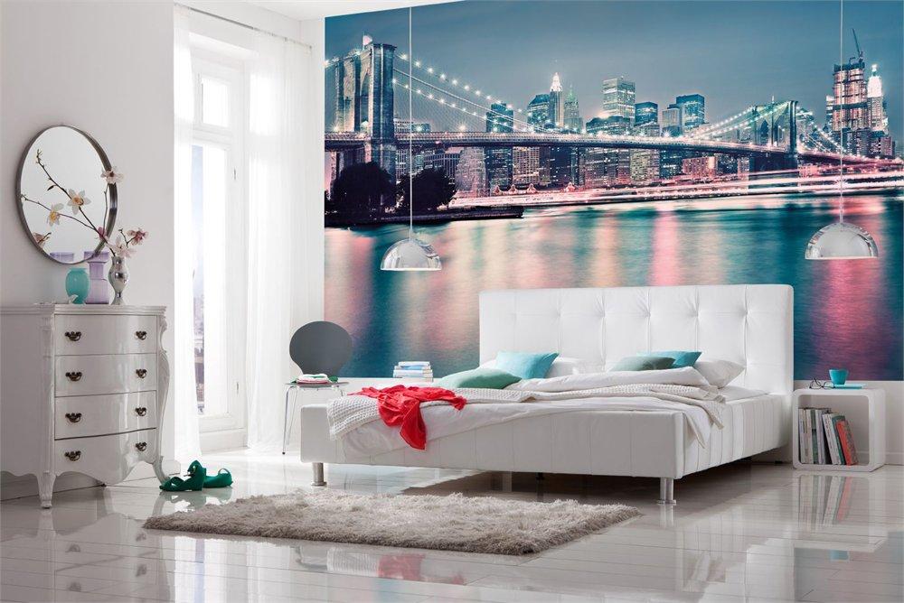 Фотообои в спальне: наилучший метод придать комнате личный дизайн