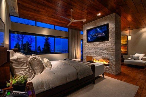 Телевизор в спальне идеи дизайн фото 4