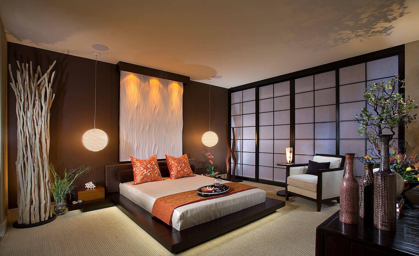 Фото спальни дизайн интерьера 2018