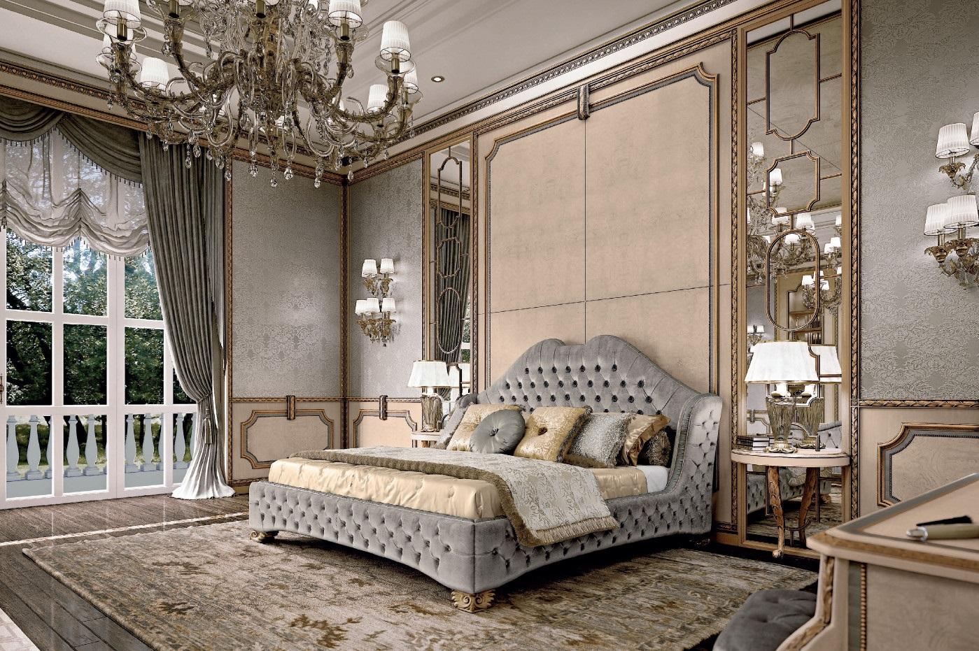 итальянские спальни 45 фото спальни из италии модели Palazzo