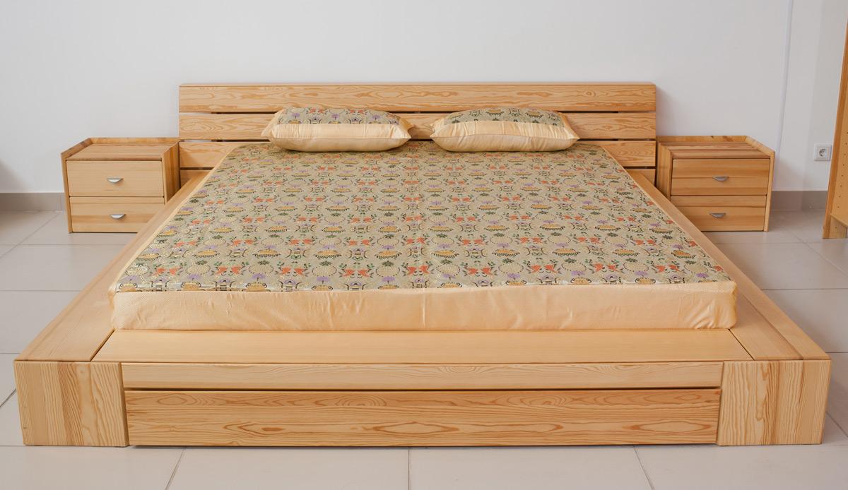 Кровати из массива сосны своими руками фото 29