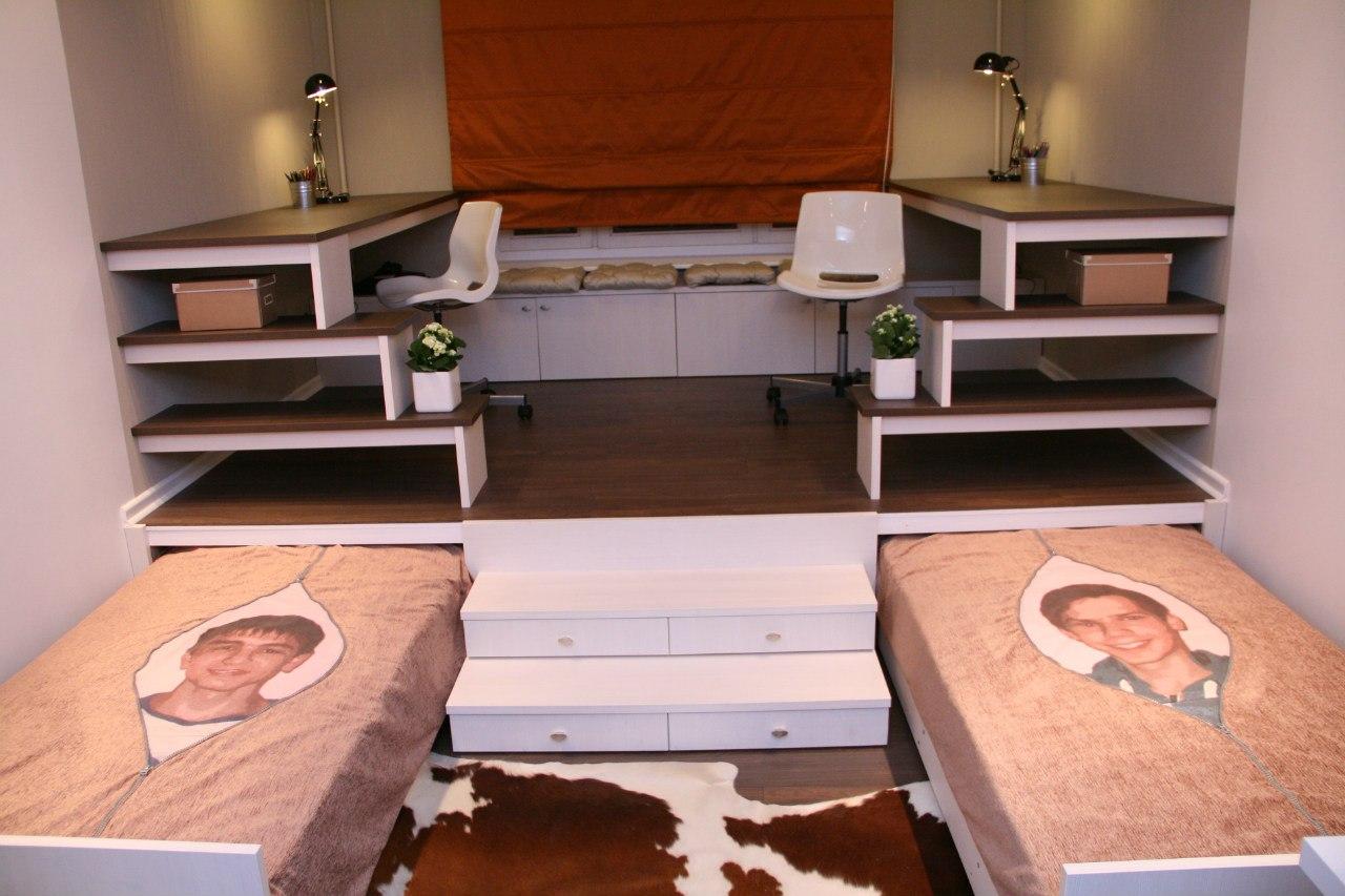 Кровать подиум своими руками в детской
