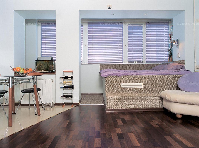Кровать-подиум (78 фото): выдвижная и встроенная кровать в п.