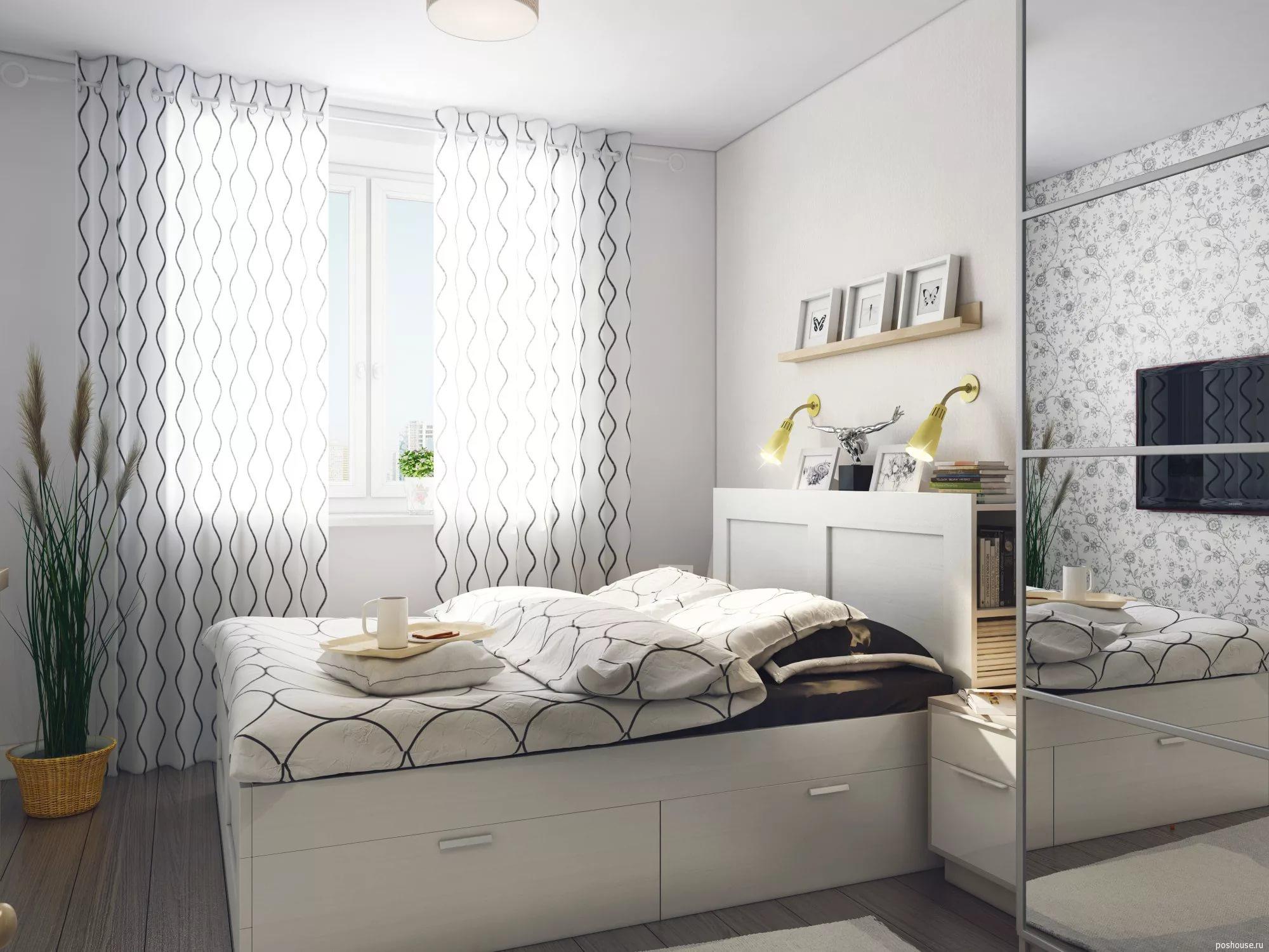 спальня Ikea 31 фото идеи в интерьере дизайн текстиля для