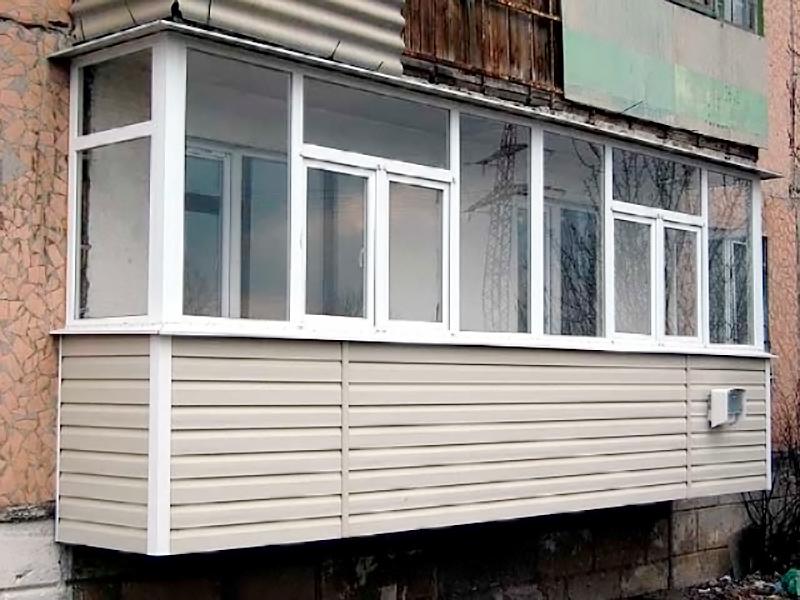 Обустройство балконов (164 фото): пристройка с нуля, размер .