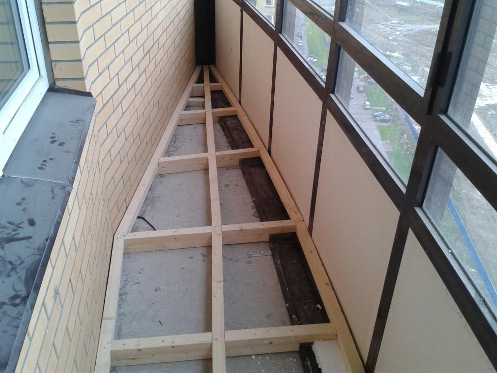 Сделать своими руками полы балкона фото 149