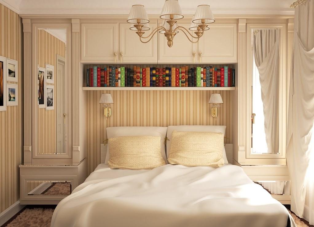 Как сделать ремонт в маленькой спальни