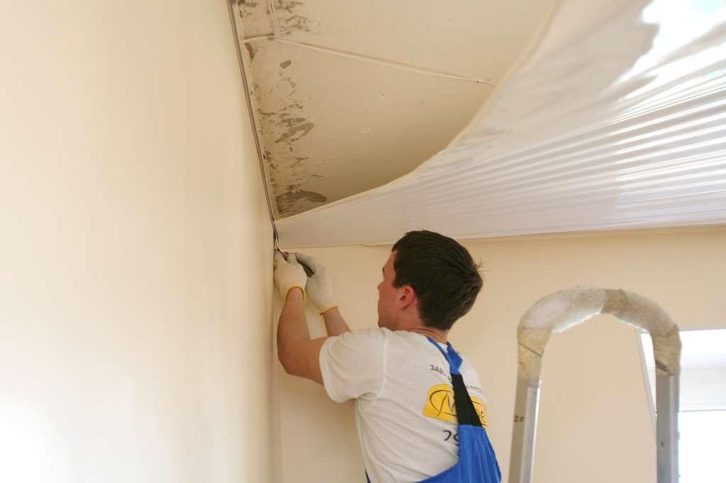 Натянуть потолки из ткани своими руками