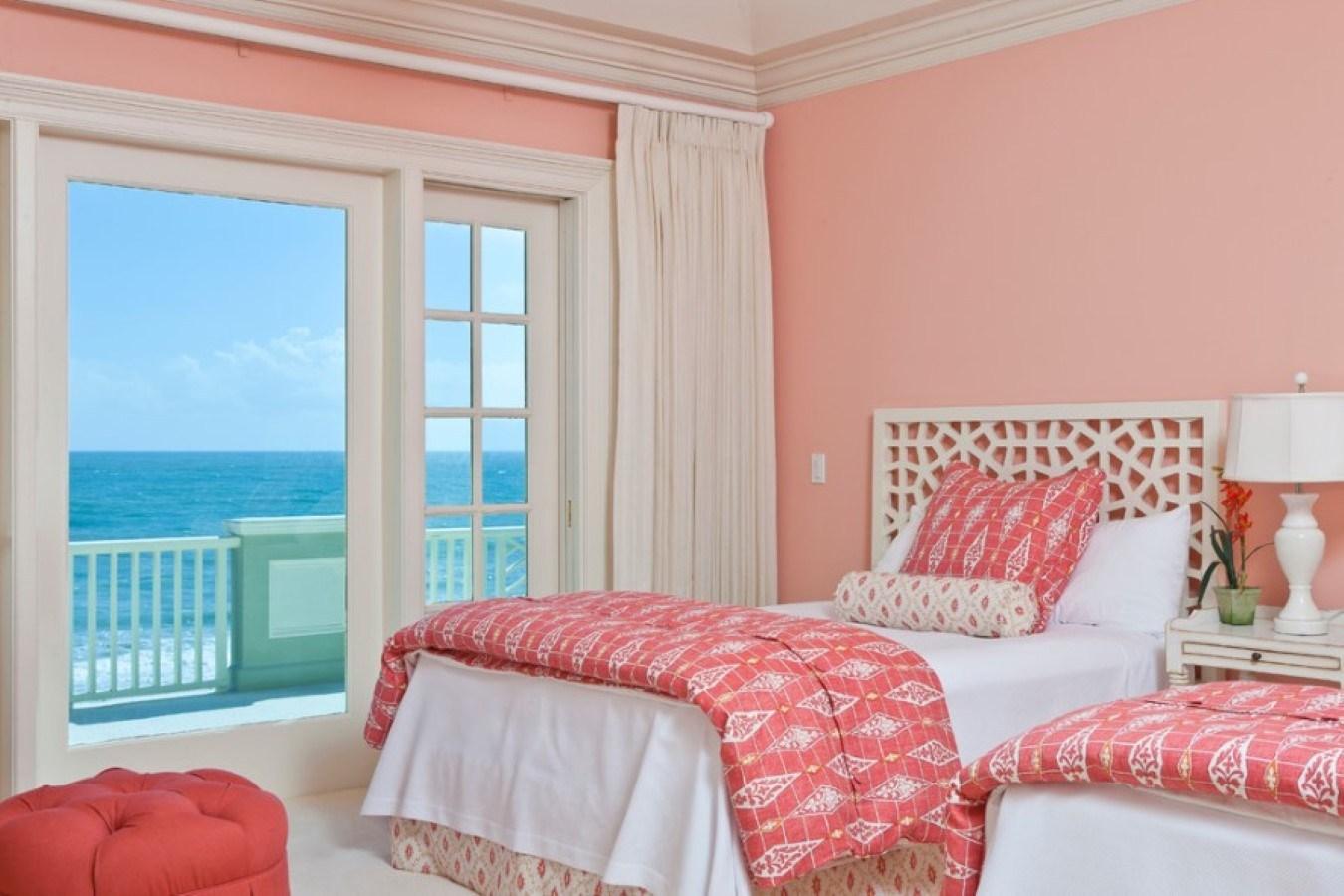 шторы стены розовые фото