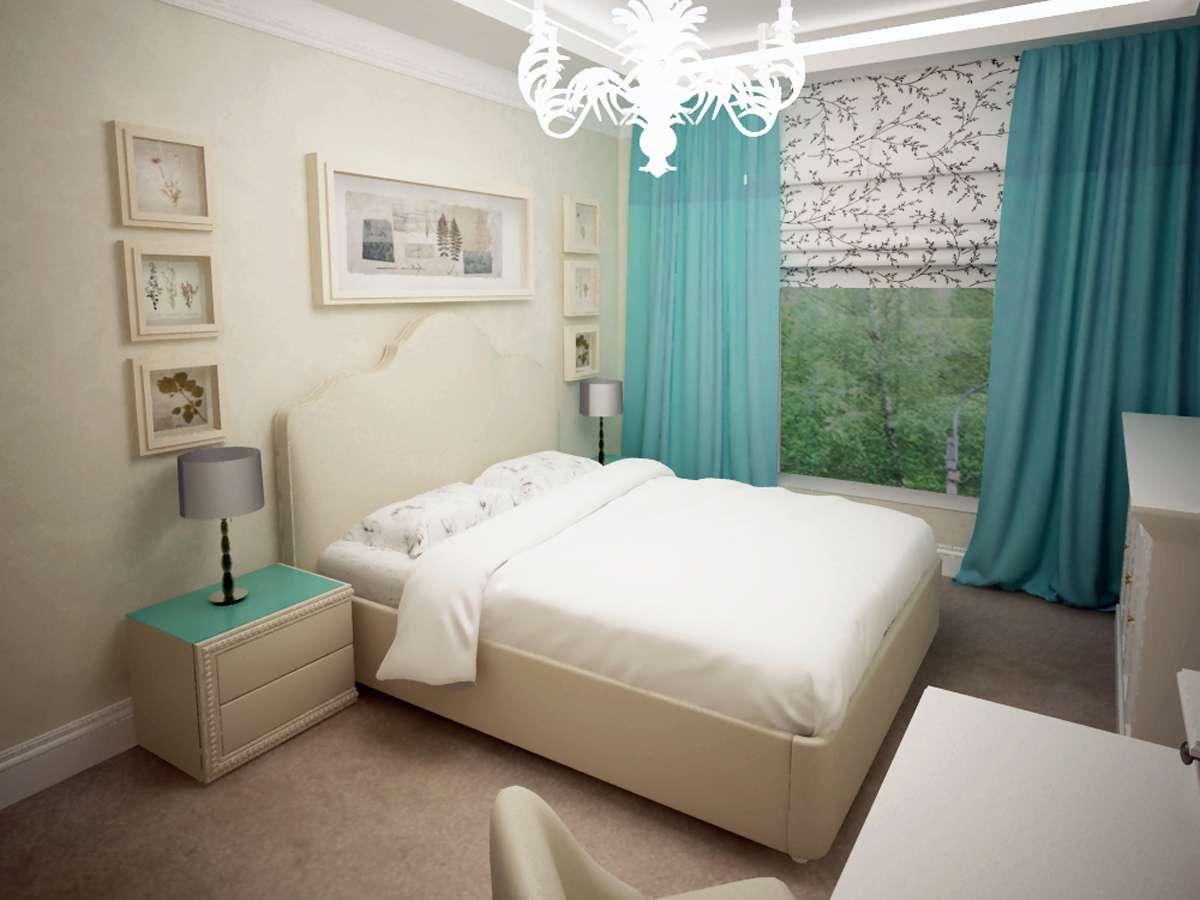 Идеи дизайна спальни в светлых тонах фото