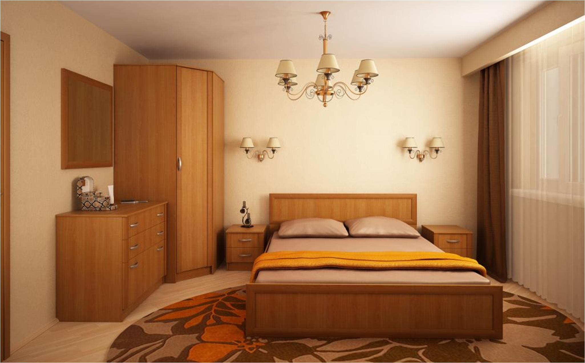 Спальный гарнитур для маленькой спальни (45 фото): как расст.