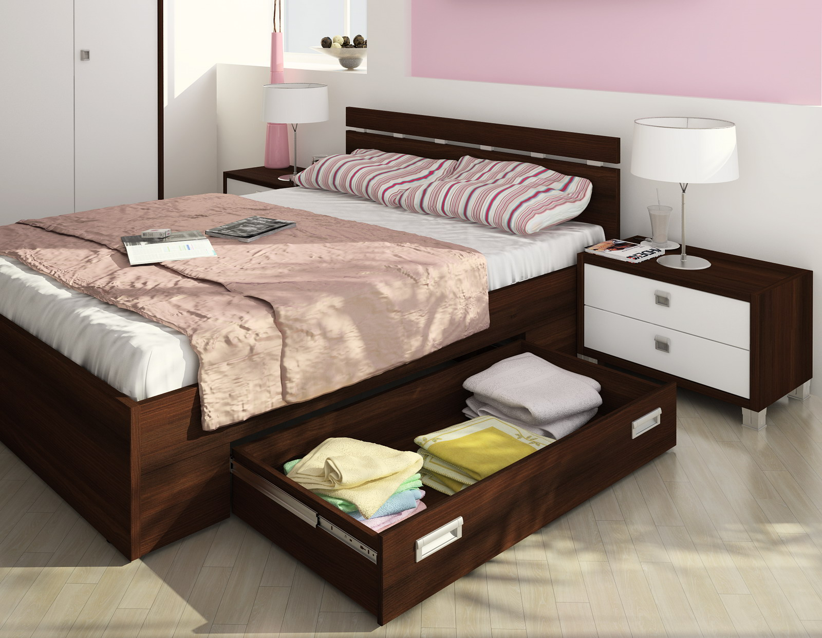 Выбор дизайна спальни, фото комнат в современном и классичес.