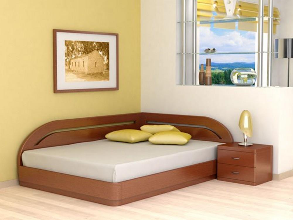Деревянные односпальные кровати: модели из массива дерева со.