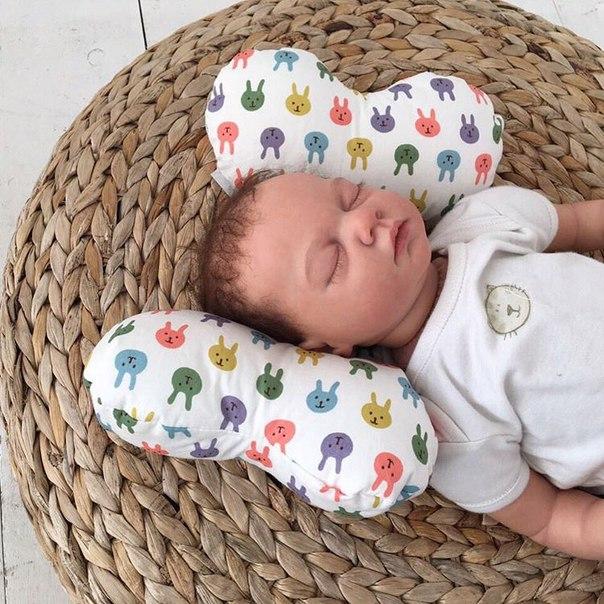 Детская подушка в автокресло своими руками