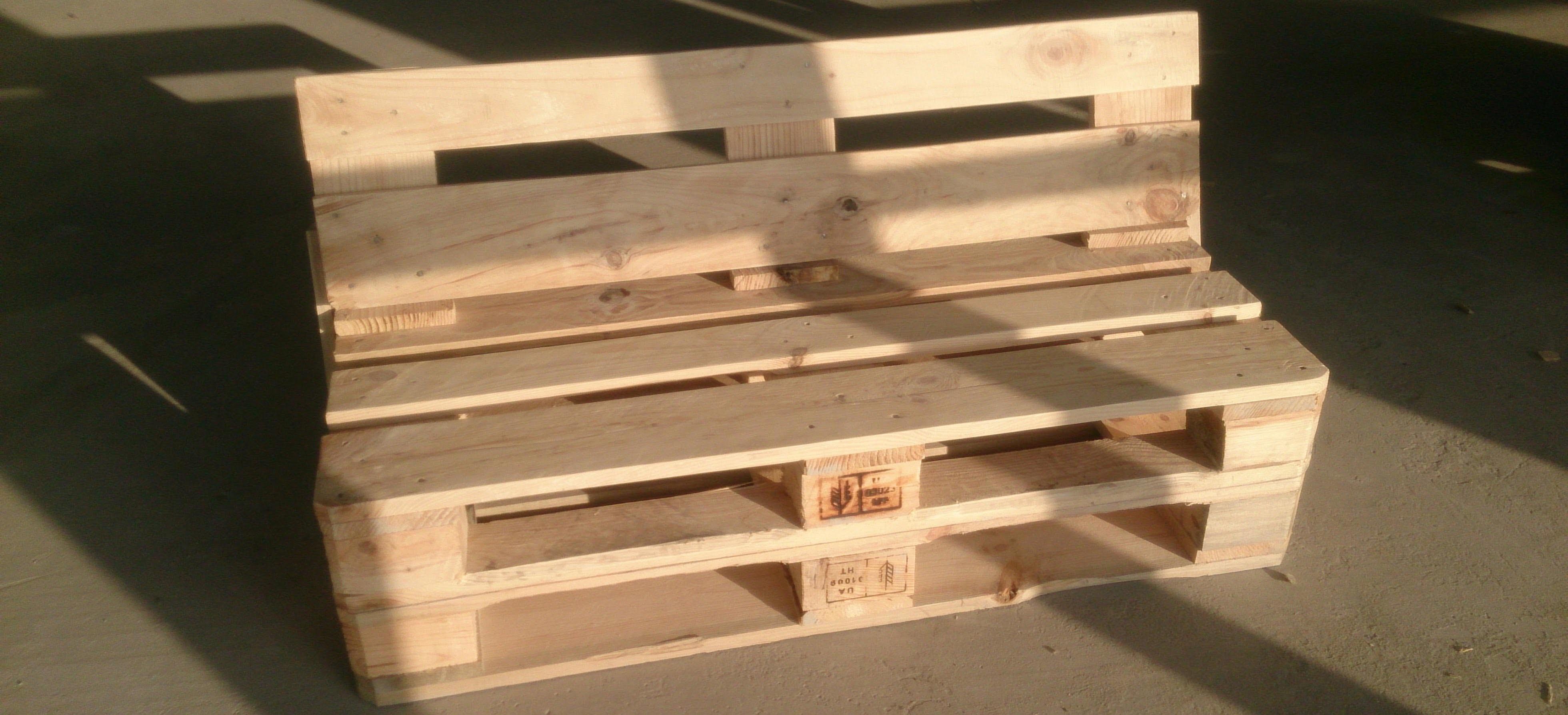 Использование старых деревянных поддонов в быту 69