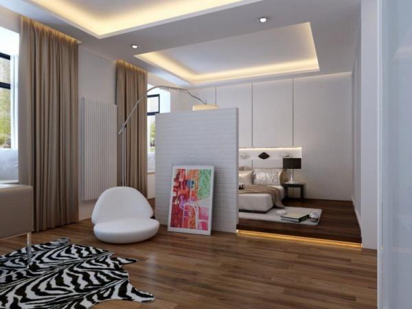 Дизайн большой спальни (48 фото): интерьер квартиры размером.