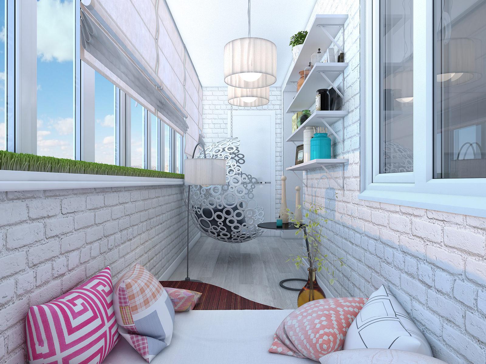 Дизайн балкона лоджии в стиле прованс стиль интерьере inside.