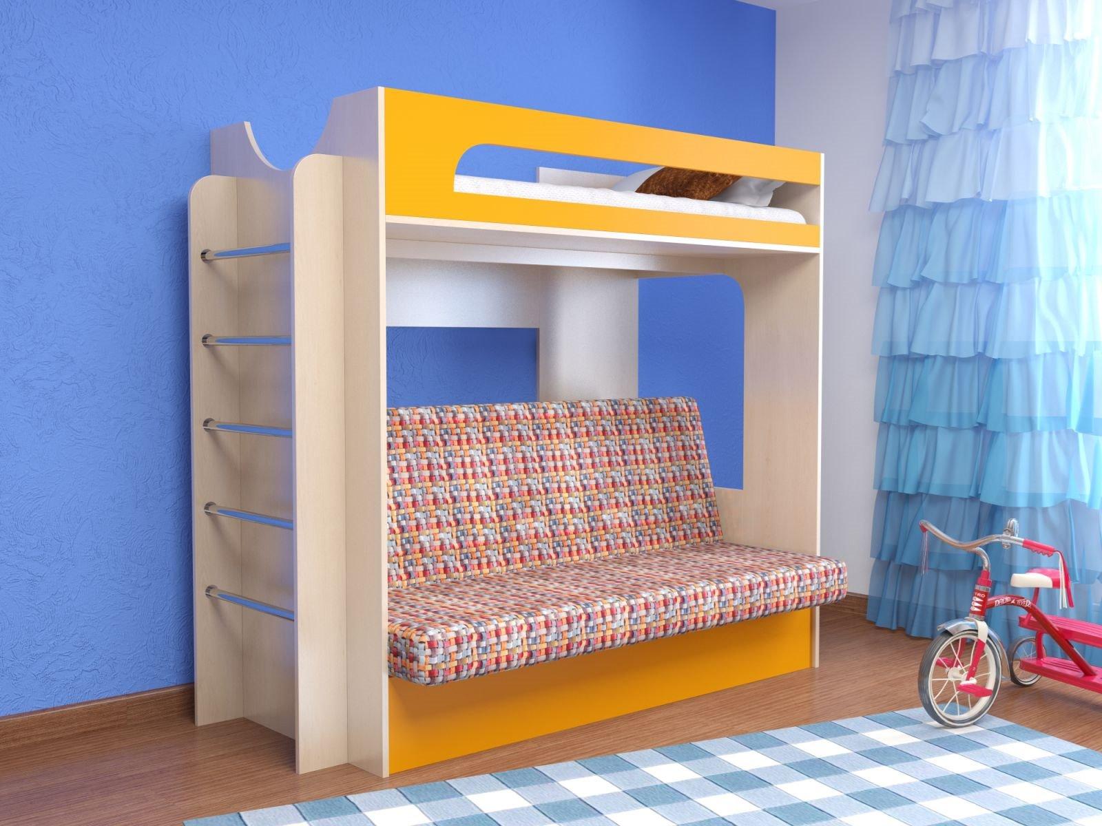 Как сделать двухъярусную кровать своими руками трансформер фото 521