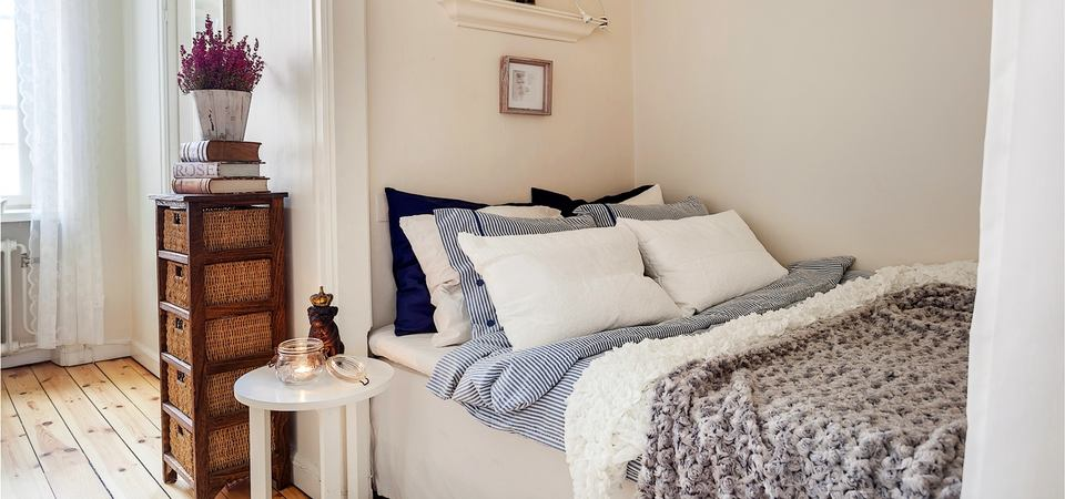 кровати в нишах фото