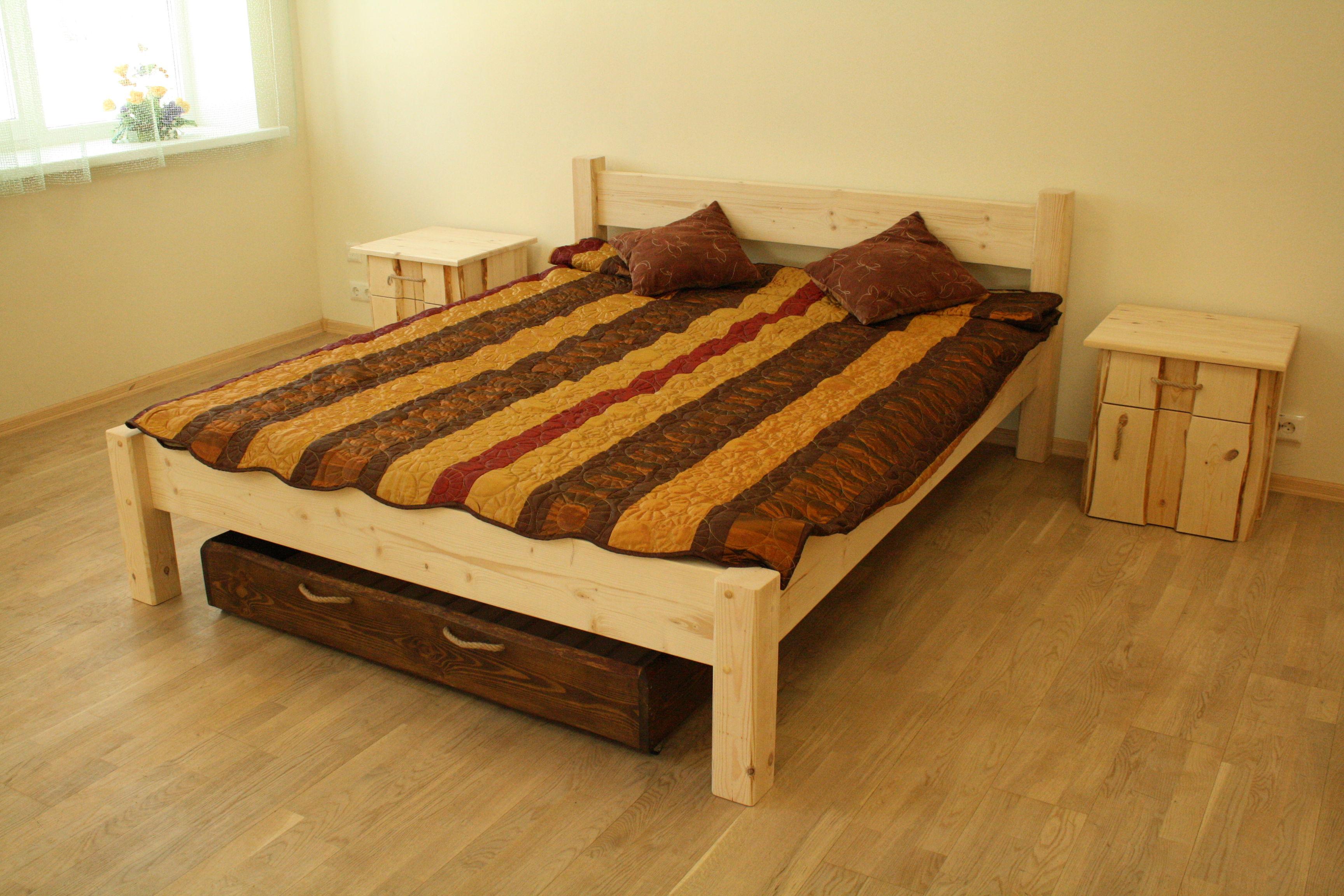 Кровать с дерева своими руками фото 67