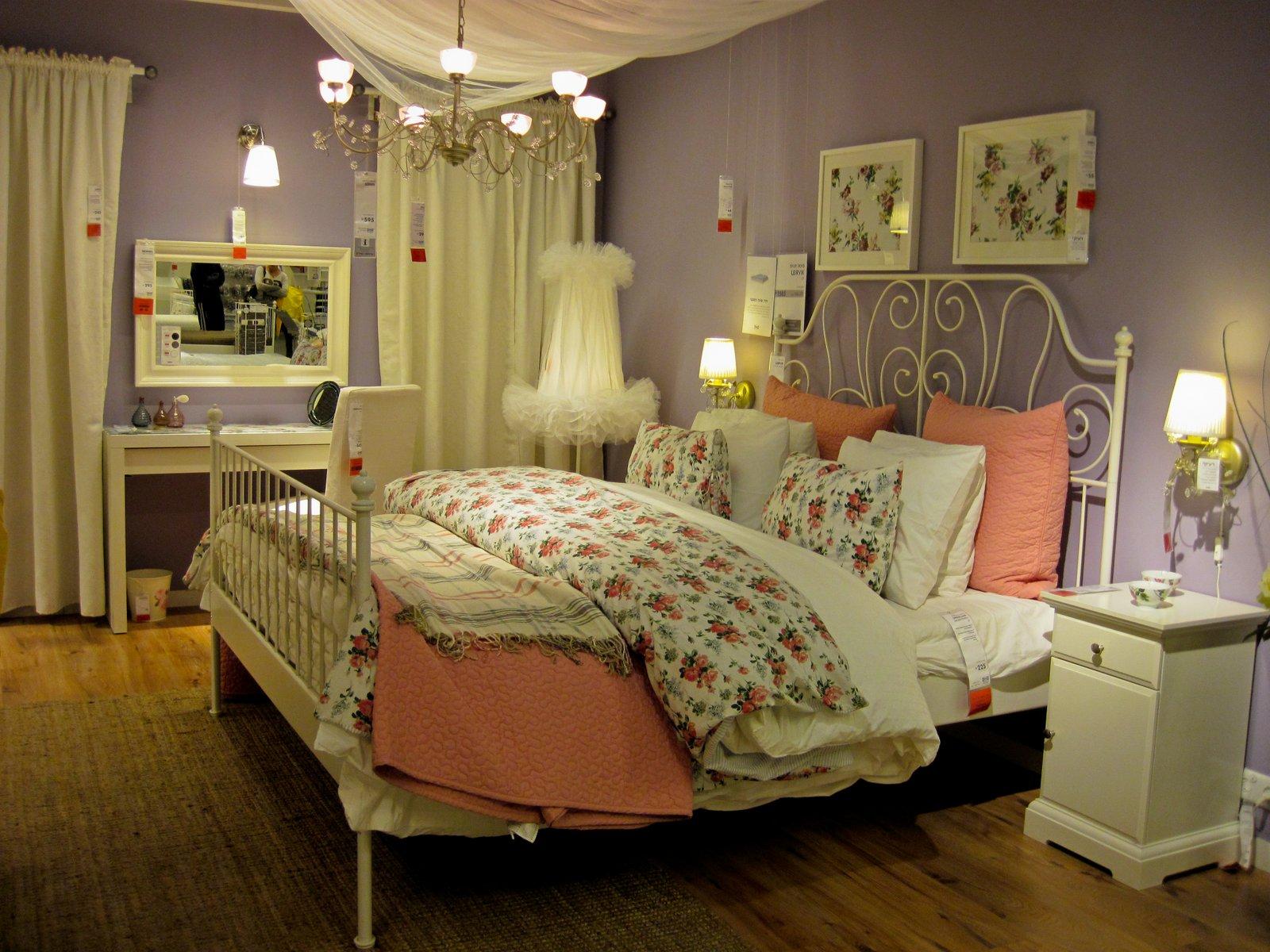 Кровать икеа в интерьере фото