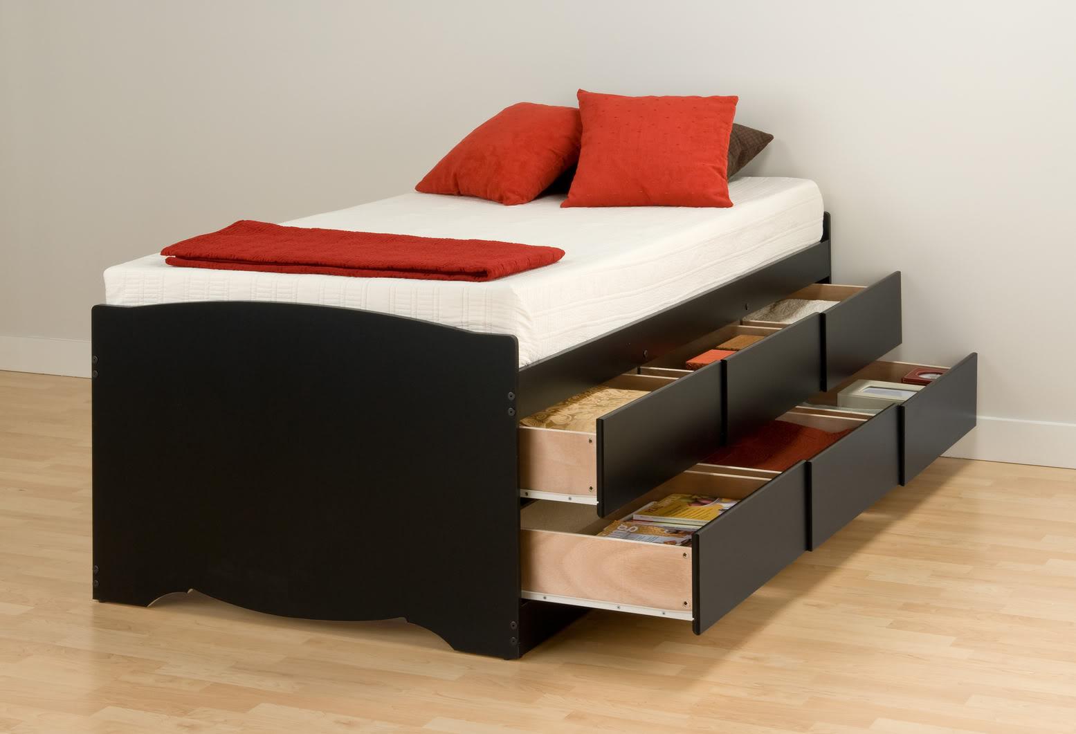кровать с ящиками для хранения купить