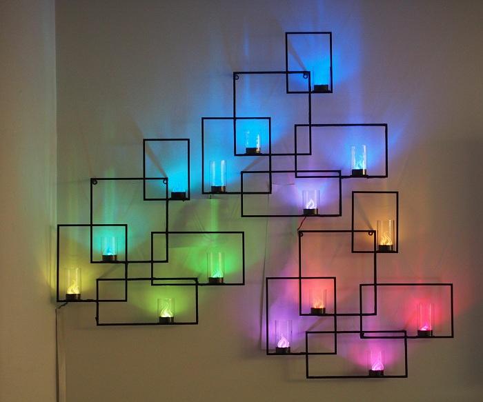 Яркое светодиодное освещение