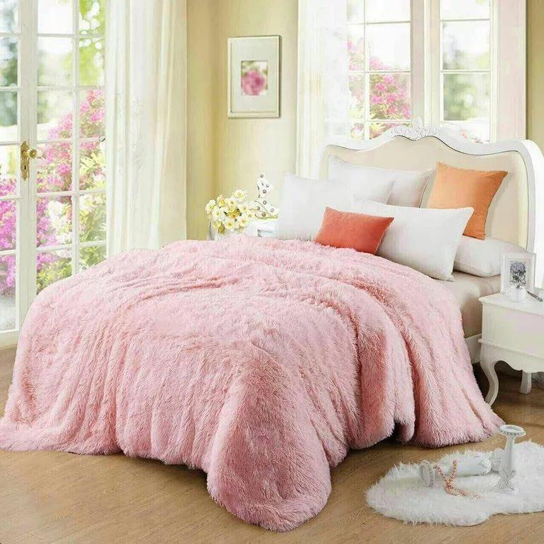 одеяло из плюшевой пряжи