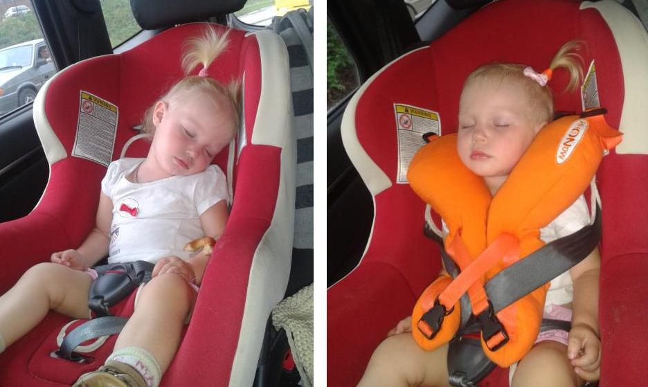 Детская подушка в автокресло своими руками 74