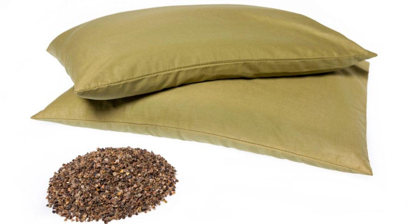 Гречневая подушка своими руками 510