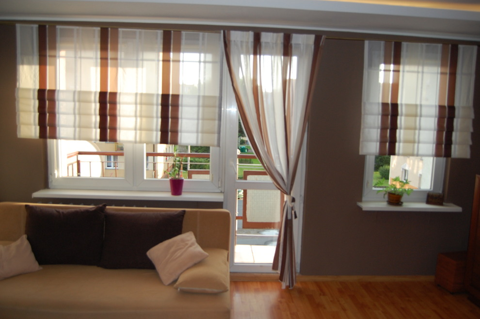 Тюль на балкон (40 фото): оформляем окно с балконной дверью,.