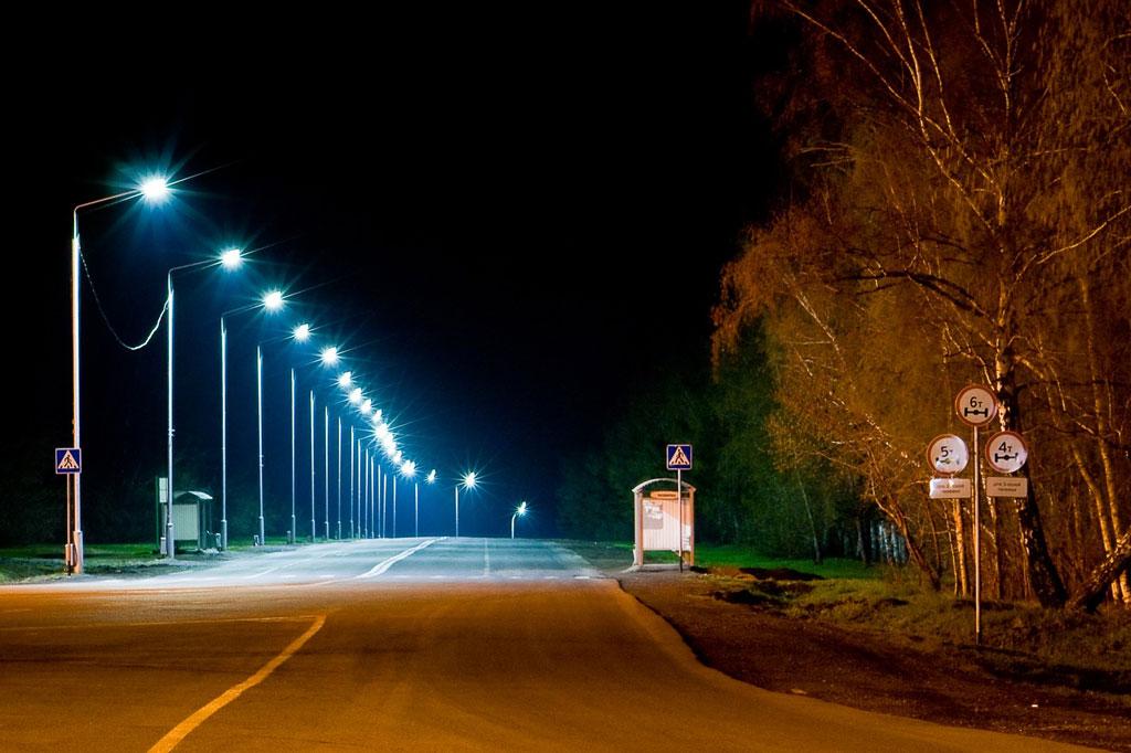 Наружное освещение: расстановка опор для освещения улиц