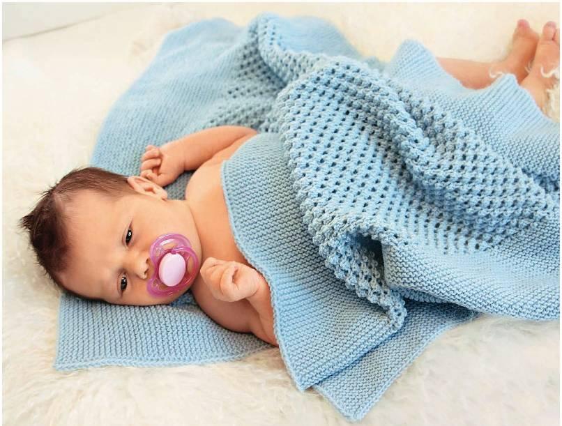 вязаный детский плед 48 фото связанные модели из лимбажу для