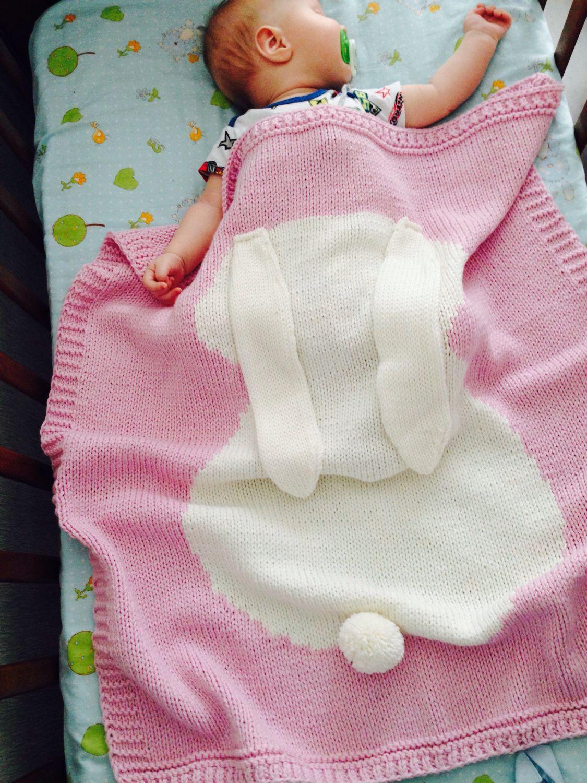 Как вязать своими руками одеяло для новорожденных 100