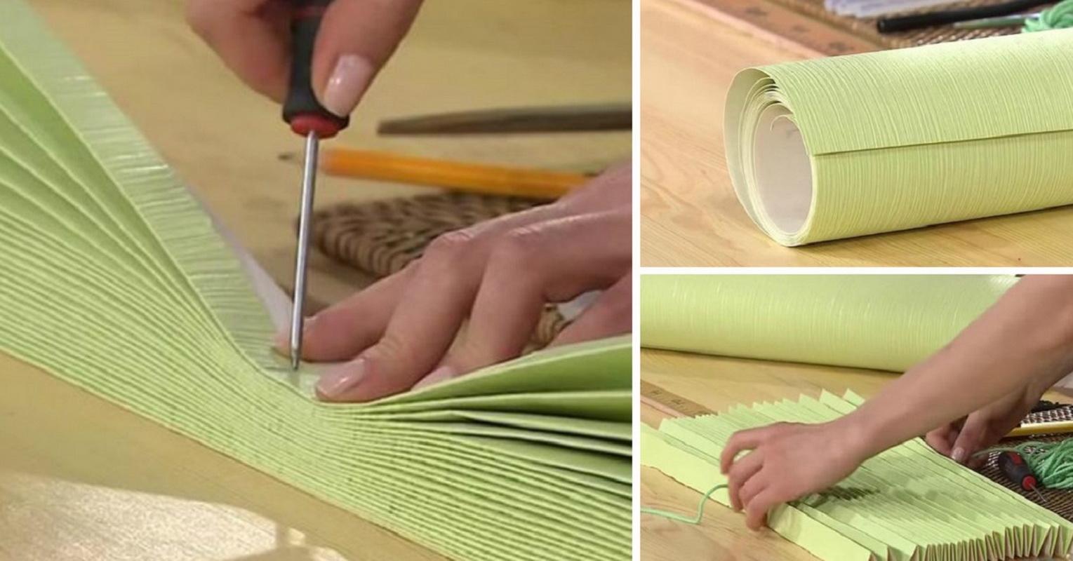 Как самостоятельно сделать рулонную штору своими руками 55