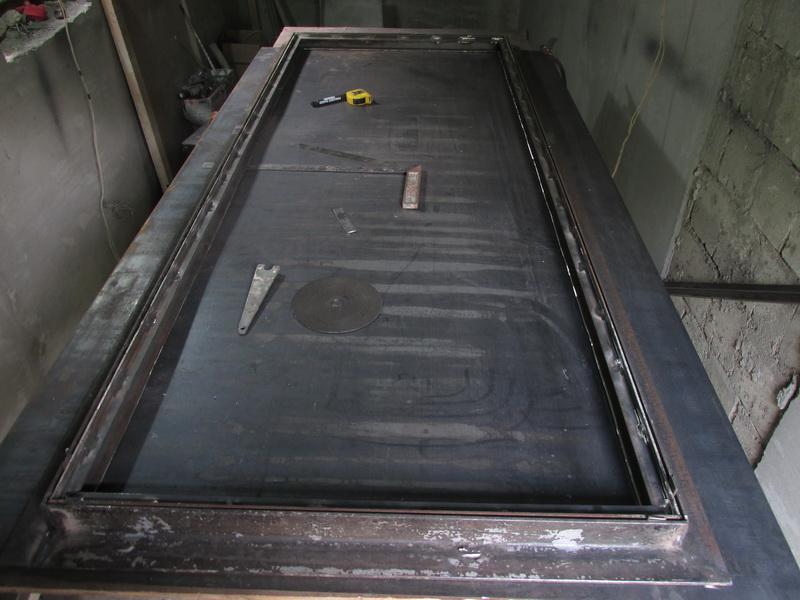 Металлическая дверь из профтрубы своими руками фото 129