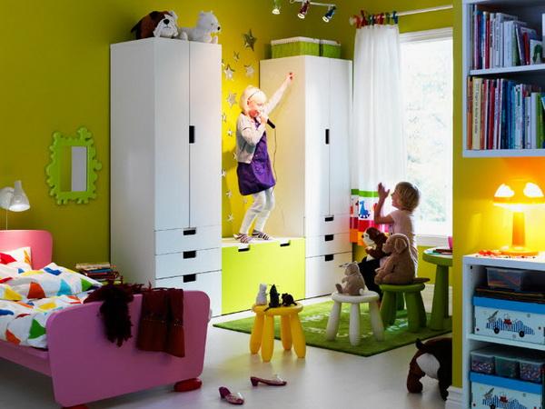 детский шкаф Ikea 30 фото стенка для хранения одежды и игрушек из