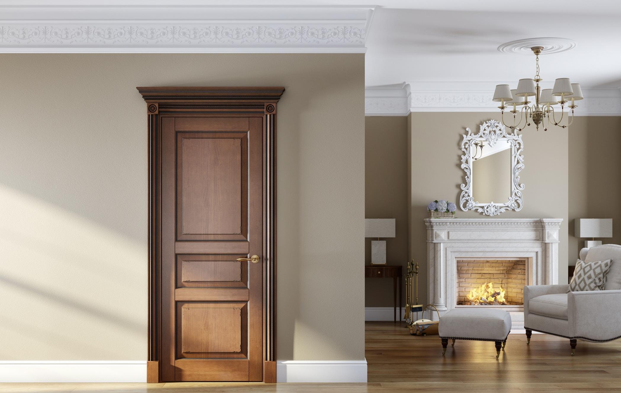 Межкомнатные двери волховец в интерьере квартиры фото