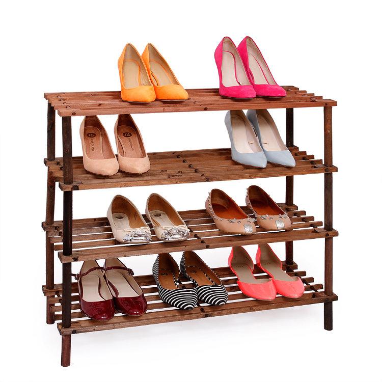 Этажерки для обуви в прихожую (27 фото): металлические, плас.