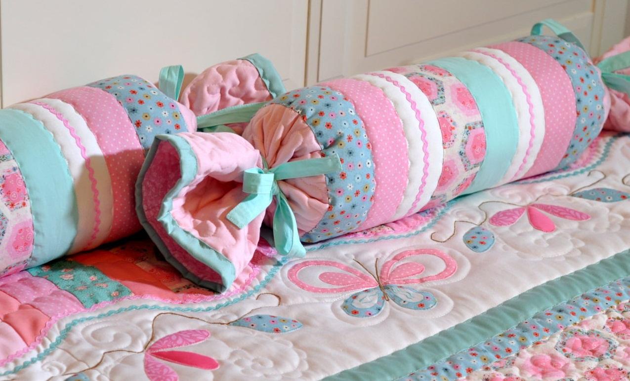 Декоративные подушки в детскую кроватку своими руками
