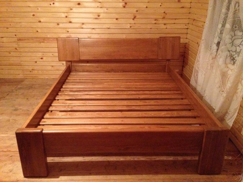 Деревянные кровати своими руками фото 25