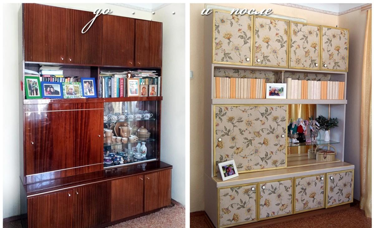 Как переделать старый шкаф своими руками фото