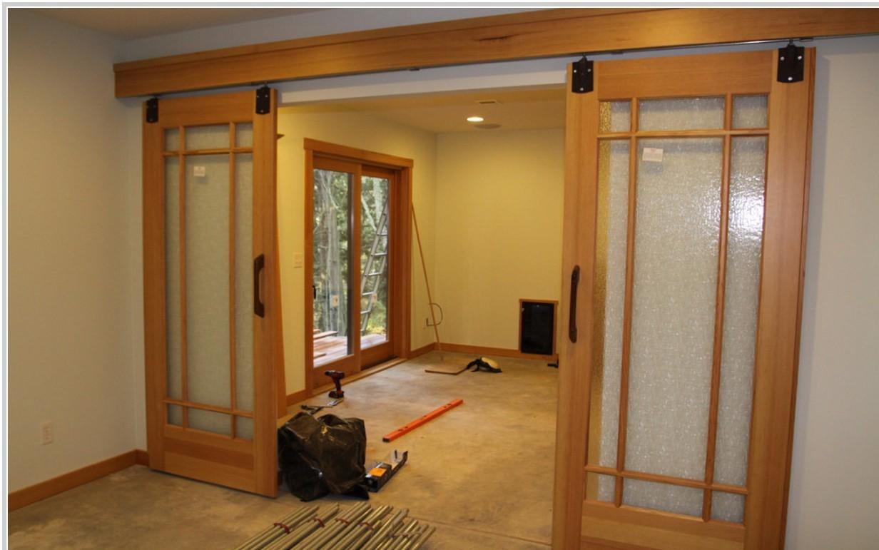Раздвижные двери своими руками : монтаж, установка, изготовление 24