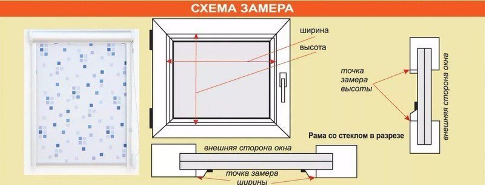 Как сделать замер стеклопакета в пластиковом окне