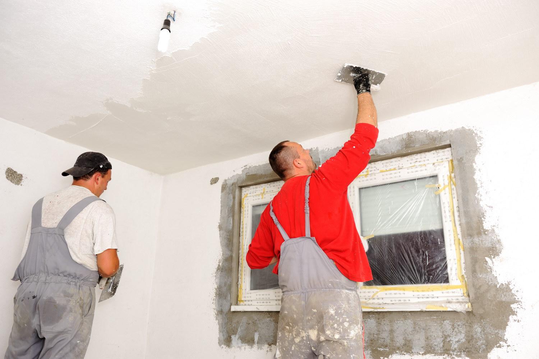Ремонт своими руками и покраска стен с фото